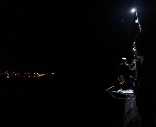 Vue nocturne de Bergères les Vertus
