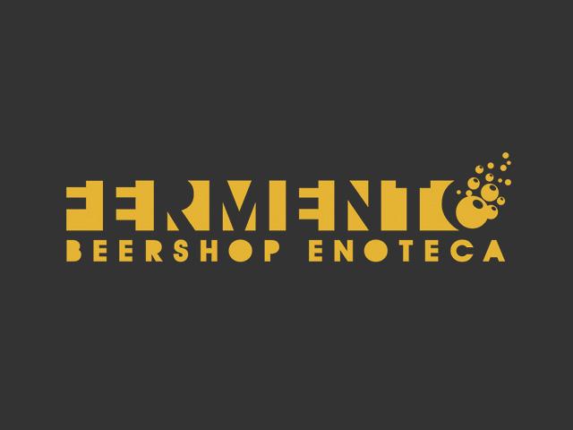 fermento beershop logo - vertigo graphics