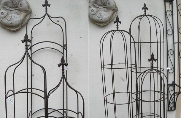 Rankhilfe Obelisk Vertiko Antik