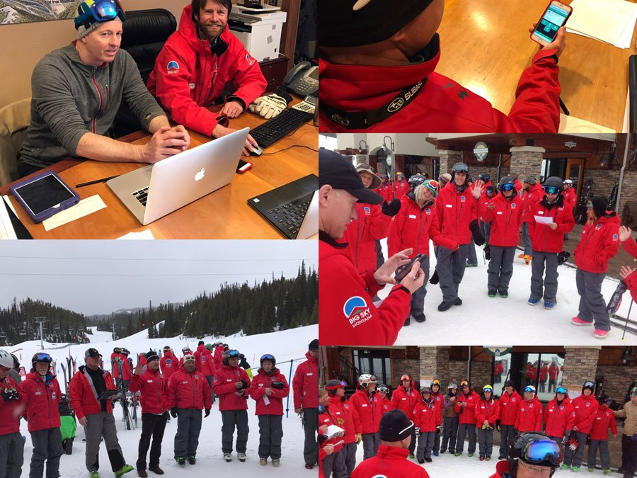 VERT team visits Big Sky Resort to launch ProCard trial