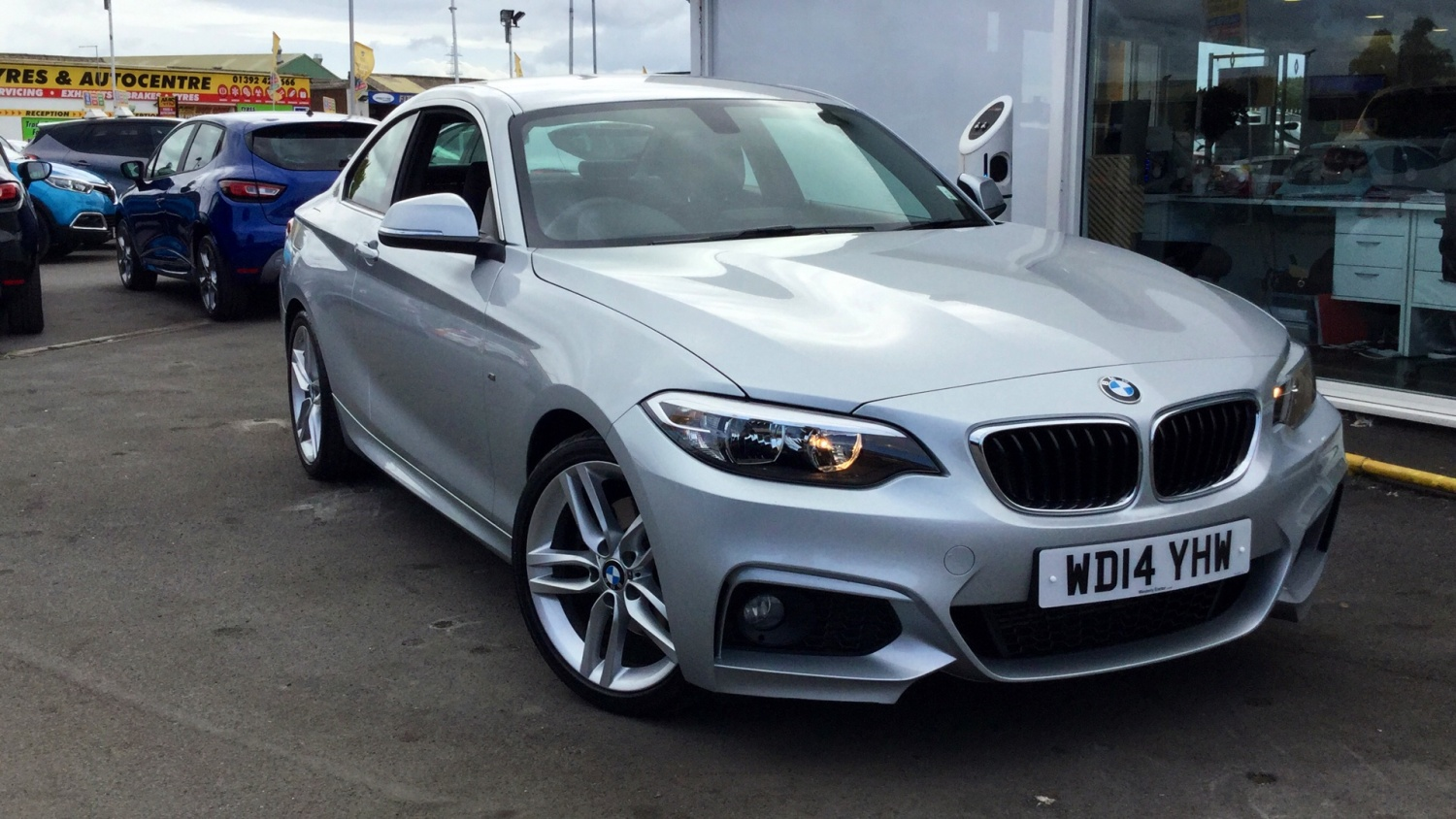 hight resolution of bmw 2 series 220d m sport 2dr diesel coupe