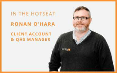 Ronan O'Hara - 8 Questions Series - Feature Photo