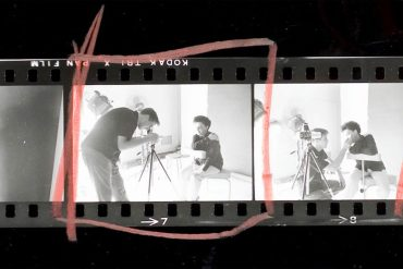 Douglas contact sheet from That Click, showing at the Doc Edge Film Festival