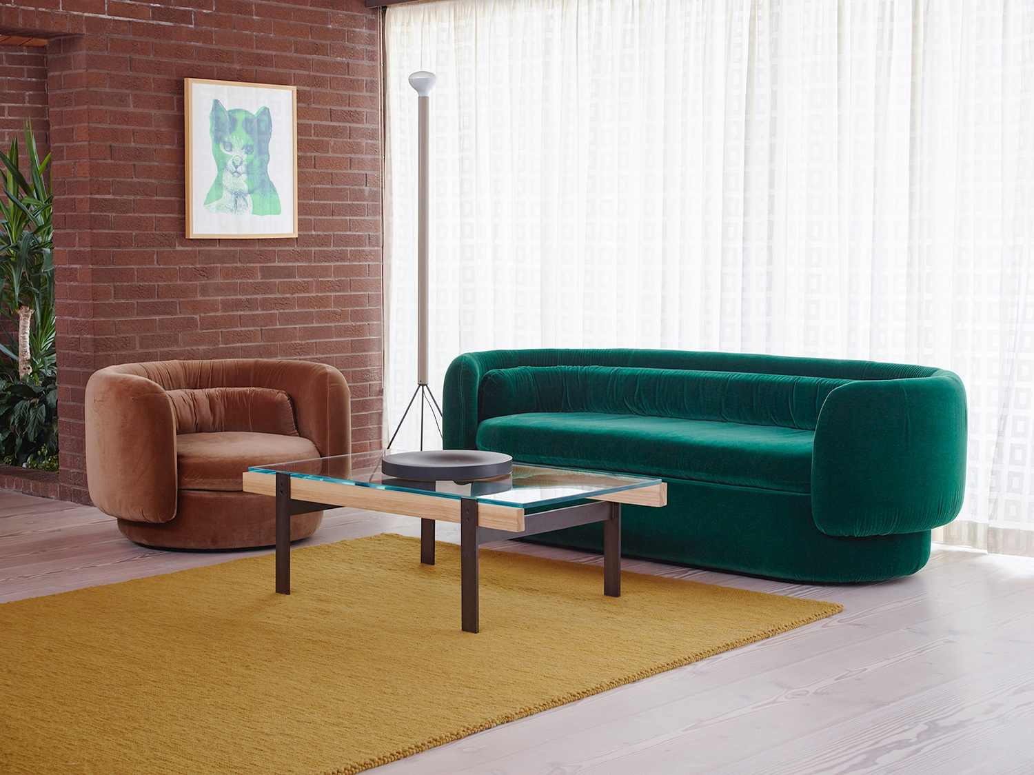 Bob & Friends The Group armchair and sofa Designed by Philippe Malouin