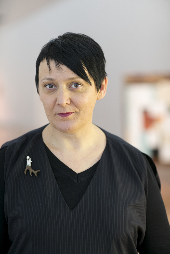 Charlotte Davy, 2016. Photograph by Michael Hall. Courtesy of Te Papa