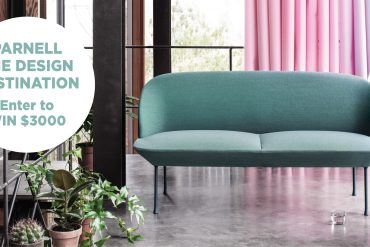 WIN $3000 THANKS TO PARNELL, THE DESIGN DESTINATION