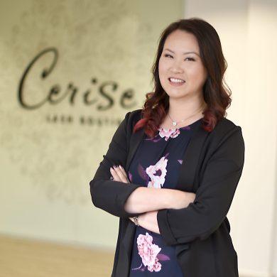 Lash Queen and Entrepreneur, Elisia Webb