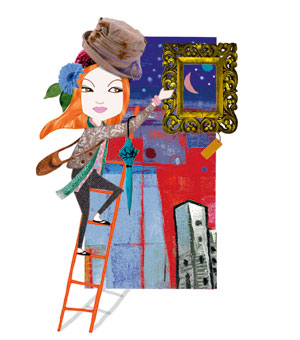 Living off my art - essay by Sitanshi Talati Parikh, Illustration by Farzana Cooper