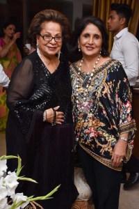 Durga Chulani and Aruna Tara