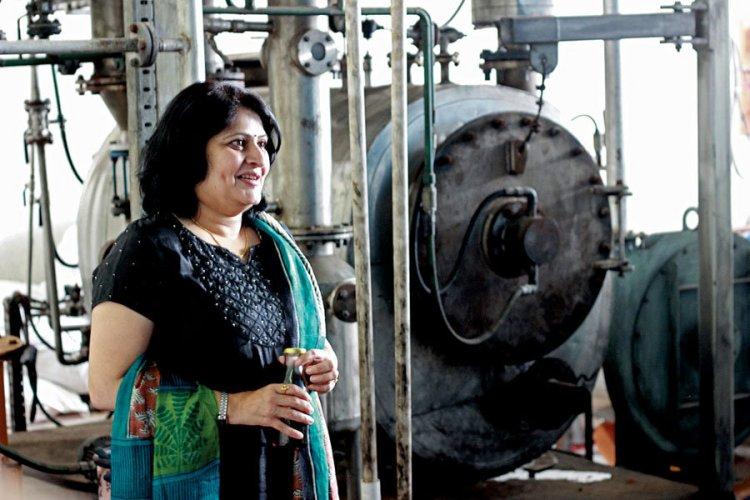 Dr. Medha Tadpatrikar, founder of Rudra Environmental Solutions