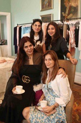 Nisha Jamvwal, Shibani Aggarwal, Nisha Jhangiani and Natasha Chib