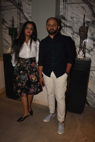 Namrata Shetty and Neil Cresto