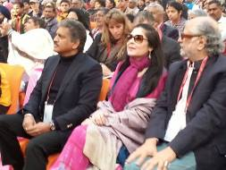 Anand Mahindra and Verve's Anuradha Mahindra in attendance
