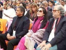 Anand Mahindra and Verve's Anuradha Mahindra in attendance