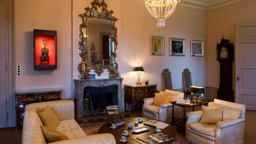 The Living Room in the Manoir de Ban