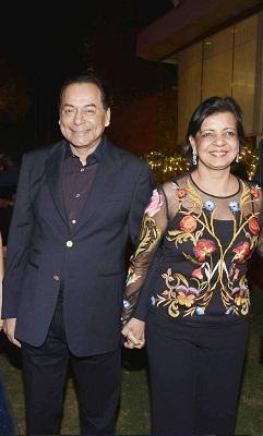 Ravi and Madhu Ruia