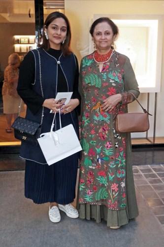 Sanjana Shah and Kalpana Shah