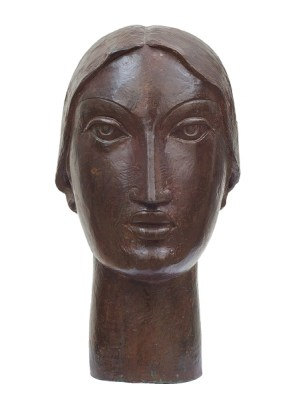 Lady (Head) Front View