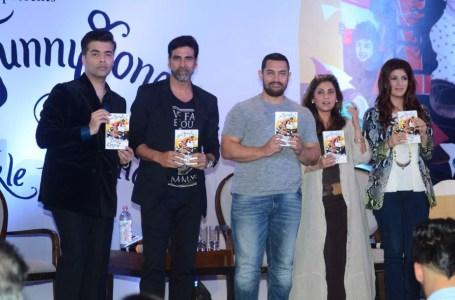 Karan Johar, Akshay Kumar, Aamir Khan, Dimple Kapadia and Twinkle Khanna