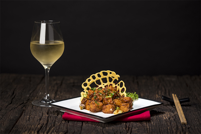 Crispy tofu lai style