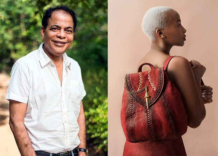 Left to right: Dilip Kapur and Joy Kendi