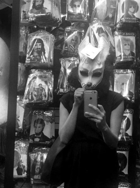 Discover your alter ego at a wig-and-masks store.