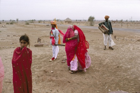 A Wedding Party, Jodhpur-Jaisalmer Road