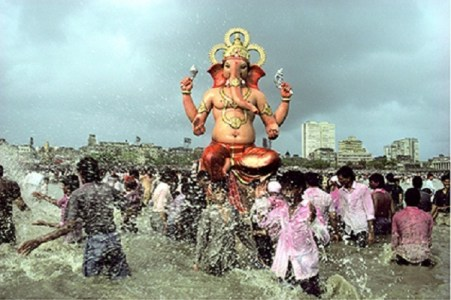 Ganapati Immersion, Chowpatty