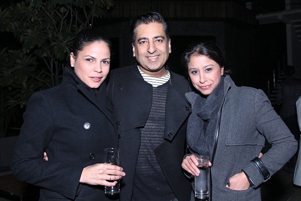Cynthia Marquez, Rahul Khanna, Mallika Vadhera