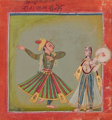 A Basohli miniature that sold for 145,455 dollars at Saffronart's last auction in Mumbai