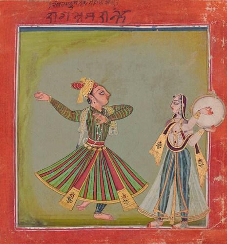 A Basohli miniature that sold for 145,455 dollars at Saffronart's last auction in Mumbai