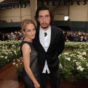 Joanne Tucker, Adam Driver at Dior