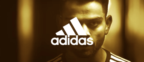 Still from the Adidas ad