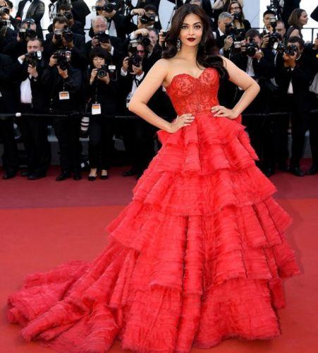 Aishwarya Rai Bachchan in a Ralph & Russo gown