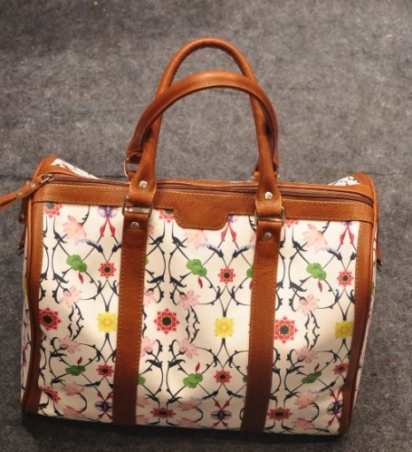 Marchmallow tote by Ajay Kumar