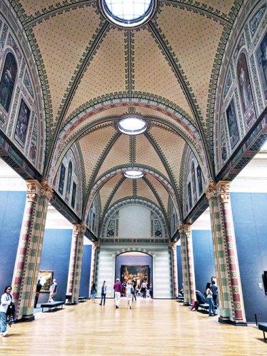 The interiors of Rijksmuseum