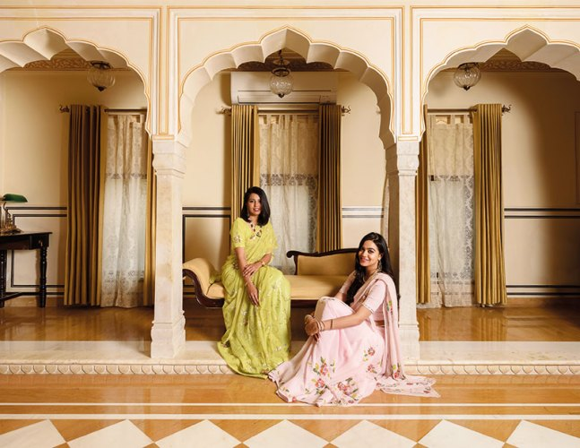 Left to right: Shivangani Singh and Shambhavi Singh: inheritors of an impeccable aesthetic