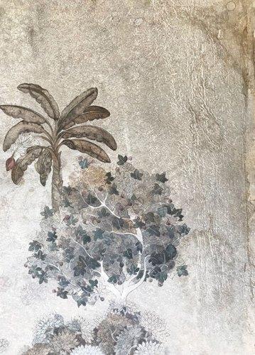 Untitled 1; Anindita Bhattacharya; walnut ink and gouache on vasli; 10 x 8 in