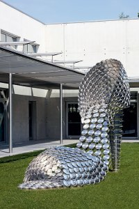 Priscilla by Joana Vasconcelos at the shoe factory