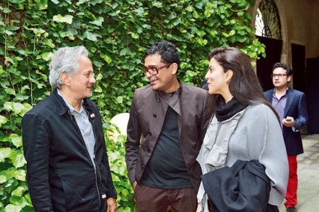 Anish Kapoor, Jitish and Reena Kallat