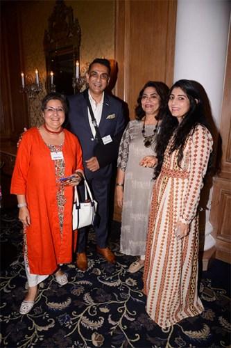 Anjali Raina, Samir Srivastav, Verve's Arti Sarin & Shveta Raina