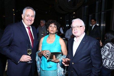 Antony Page, Sujata Kohli, Sushil Gupta