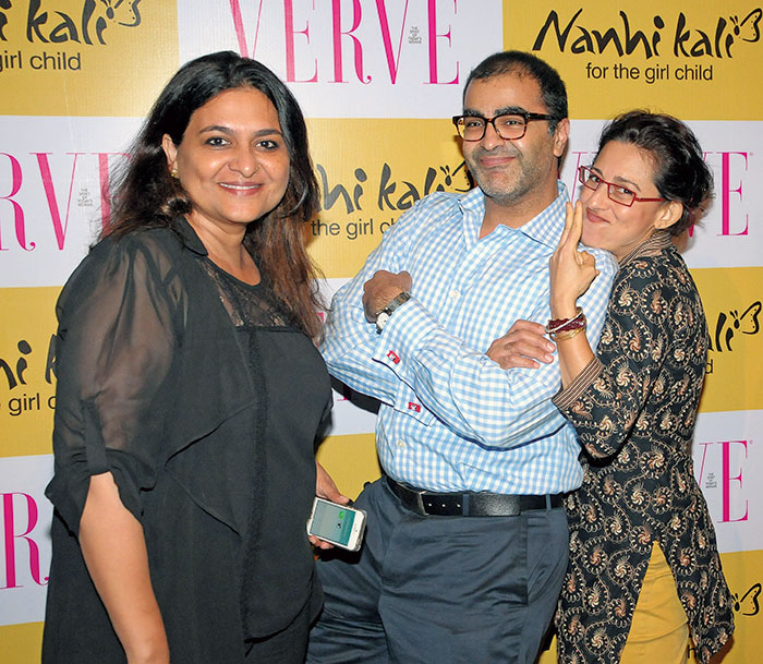 Anupa Mehta, Asad Lalljee, Avantika Akerkar, Verve collaborated with Nanhi Kali to host a special screening of Oscar-winner Megan Mylan's film After My Garden Grows