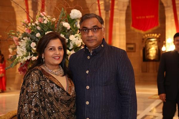 Archana and Vinod Mittal