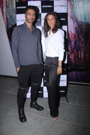 Arjun and Mehr Rampal