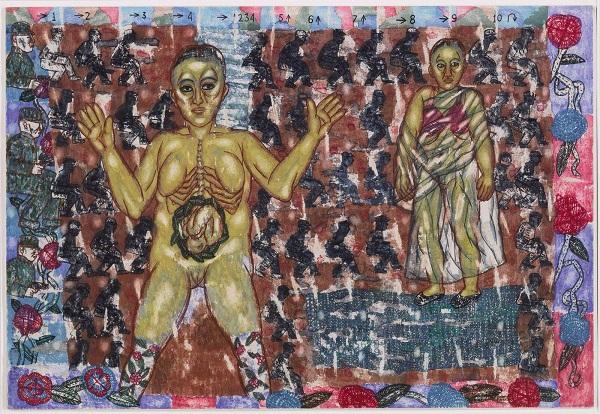 Artwork by Arpita Singh at Akara Art, Mumbai
