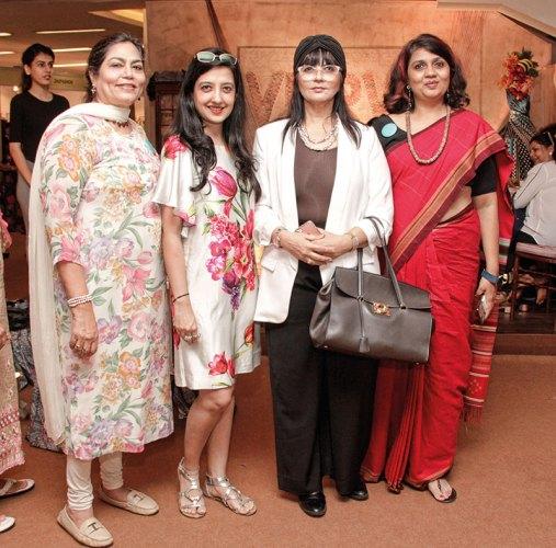 Verve's Arti Sarin, Amy Billimoria, Neeta Lulla, Verve's Pallavi Kanchan