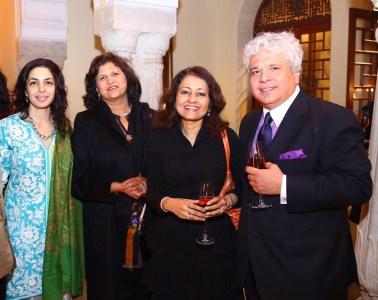 Nawaz Modi Singhania, Ananya Goenka, Leena Tiwari, Suhel Seth