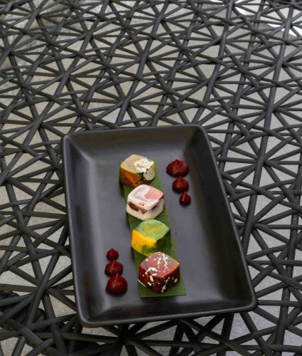 Asian Inspired Petit Fours