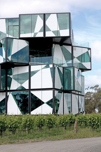 D'arenberg's newly opened cube is the newest addition to the vineyard